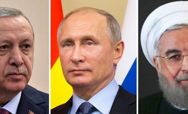 Ərdoğan Putin və Ruhaniyə 3 şərt irəli sürüb