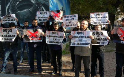 Trampın Qüds qərarına Azərbaycandan da etiraz gəldi – FOTO