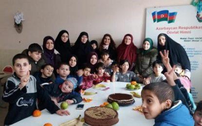 Nardaran məhbuslarının ailələri uşaq evini ziyarət etdi – Fotolar