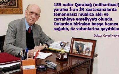 Qarabağ müharibəsində İranın Azərbaycan Respublikasına yardımları doktor Cavad Heyətin xatirələrində