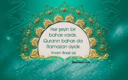 Ramazan ayının 1-ci gününün duası – AUDİO