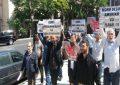 İslamçılar İsrail səfirliyi qarşısında aksiya keçirib – FOTO – VİDEO