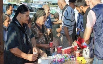 Gürcüstan Ali Dini İdaərsi Məhərrəm ayı ilə bağlı ehsan paylayıb