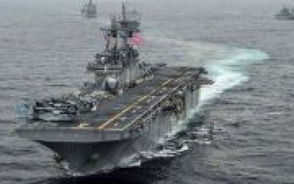 """Sepah """"USS Boxer"""" freqatının izlənilməsi barədəki videonu yayıb"""