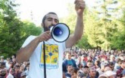 Ermənistanda amerikan-ingiis şirkətin qarətinə qarşı aksiya davam edir