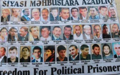 ASMAİ 117 nəfərdən ibarət yeni siyasi məhbuslar siyahısını dərc edib