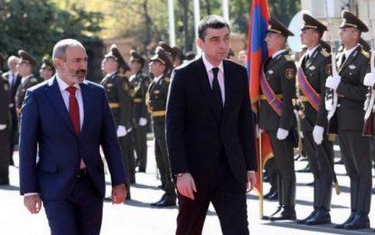 Gürcüstan və Ermənistan baş nazirləri görüşdü