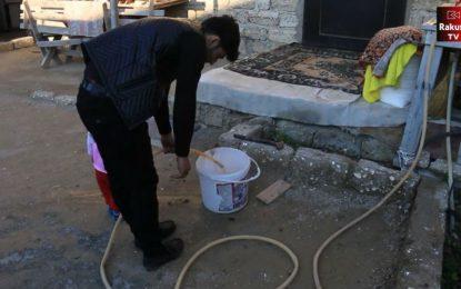 Binə sakinləri suya möhtac qalıblar – Video