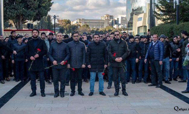 İlahiyyatçılar və inanclılar 20 Yanvar şəhidlərini ziyarət etdi – FOTO, VİDEO