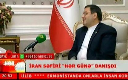 """İran səfiri """"Space"""" telekanalına Xocalı soyqırımından və koronavirusdan danışıb"""