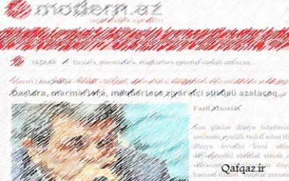 Azərbaycan Respublikası deputatının islami məfhum və şüarları anlamazlığı