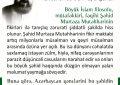 """Azərbaycan Respublikasında dini və mədəni fəallar """"Mütəhhəri ongünlüyü"""" adı altında tədbir keçiriləcək"""