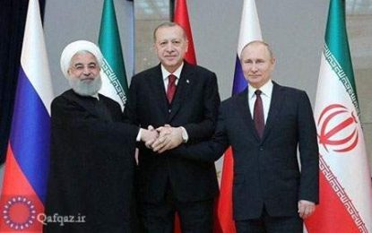 Ruhani, Putin və Ərdoğan arasında Suriya məsələsi ilə bağlı videokonfrans keçiriləcək