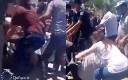 Bakıda qurban payı üstündə qarşıdurma: Bir neçə nəfər ayaq altında qaldı – VİDEO