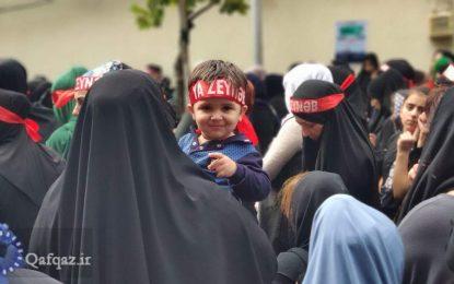Azərbaycanlı qadınlar Məhərrəmlik dövründə məscidlərin bağlanmasına  etiraz edirlər / Video