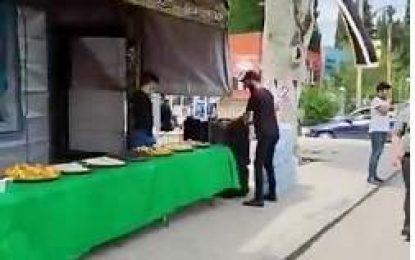 Gürcüstanın Salavati Hosseini Stansiyası