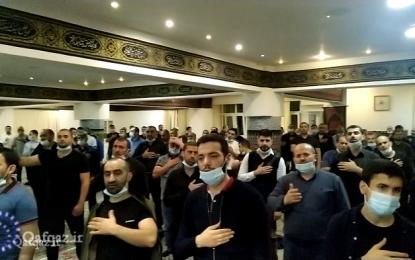 Moskvanın İslam Mərkəzində Məhərrəm ayının beşinci gecəsində matəm merasimi / Film