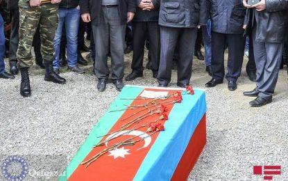 Azərbaycan Ordusu şəhid verib