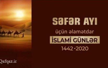 Səfər ayı üçün əlamətdar İslami günlər