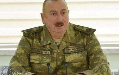 """Prezident İlham Əliyev: """"Araz çayı. Azərbaycan-İran sərhəddi. Dostluq sərhəddidir!""""/vedio"""
