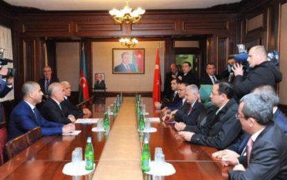سفر نخست وزیر ترکیه به جمهوری نخجوان
