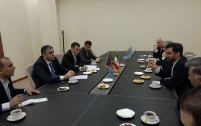 دیدار وزیر ارتباطات و فناوری اطلاعات با همتای آذری خود
