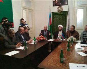 اعتراض جمعی از فعالان سیاسی و اجتماعی جمهوری آذربایجان به تصمیم ترامپ در باره اعلام قدس به عنوان پایتخت رژیم صهیونیستی