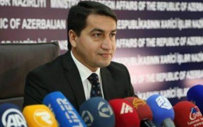 سخنگوی وزارت امور خارجه آذربایجان:مذاکرات قره باغ پس از انتخابات ریاست جمهوری آذربایجان و ارمنستان جدی خواهد شد