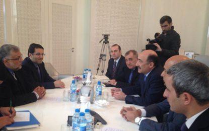 ديدار ریيس سازمان فرهنگ و ارتباطات با وزير فرهنگ جمهوري آذربايجان