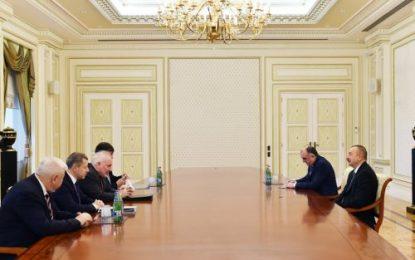 دیدار روسای همزمان گروه مینسک سازمان امنیت و همکاری اروپا با رییس جمهوری آذربایجان