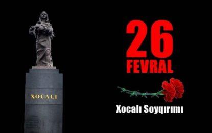 سفر رییس کمیته روابط بین المللی پارلمان جمهوری آذربایجان به سرزمین های اشغالی برای شرکت در مراسم یادبود«خوجالی»