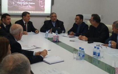 دیدار رئیس سازمان فرهنگ و ارتباطات اسلامی با نخبگان فرهنگی و دینی جمهوری آذربایجان