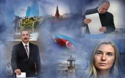 رقابت اتحادیه اروپا و روسیه در صفحه شطرنج جمهوری آذربایجان