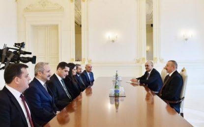 دیدار وزیر کار و تامین اجتماعی ترکیه با الهام علی اف