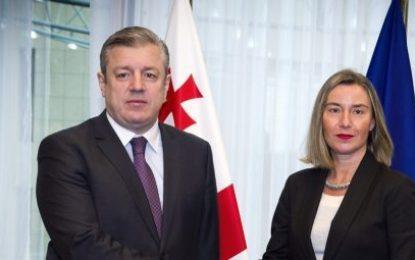 مسئول سیاست خارجی اتحادیه اروپا،گرجستان را یک شریک با ارزش برای اروپا خواند