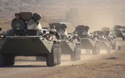 خودرو های زره پوش مدرن ساخت روسیه در اختیار ارتش نخجوان قرار گرفت