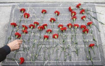 مراسم سالگرد قتلعام مردم جمهوری آذربایجان توسط ارامنه در ترکیه برگزار شد