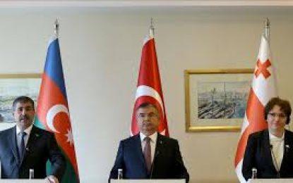 ۲۸ مارس نشست سه جانبه وزاری دفاع ترکیه،جمهوری آذربایجان و ترکیه در آنکارا