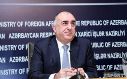 المار محمدیاروف خبر داد:15 مارس دیدار وزاری خارجه جمهوری آذربایجان،ترکیه،ایران و گرجستان در باکو