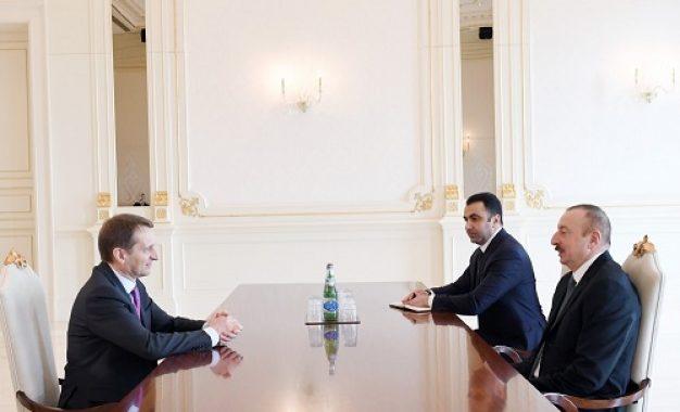 دیدار سرویس اطلاعات خارجی روسیه با الهام علی اف