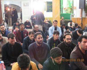 گزارش تصویری مراسم بزرگداشت روز همبستگی با محبوسین شریعت جمهوری آذربایجان در اردبیل