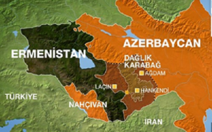 کشته شدن یک نظامی جمهوری آذربایجان بر اثر تیراندازی نیروهای ارمنستان