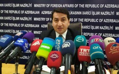 وزارت خارجه جمهوری آذربایجان سفر نخست وزیر ارمنستان به قره باغ را فراخوان به جنگ توصیف کرد.