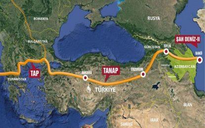 با هدف انتقال گاز جمهوری آذربایجان؛ خط لوله گاز تاناپ در ترکیه آماده افتتاح شد