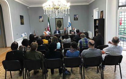 نشست سراسری ایرانشناسان گرجستان در تفلیس برگزار شد