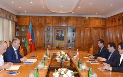 دیدار سفیر ایران در باکو با رییس جدید کمیته دولتی گمرک آذربایجان