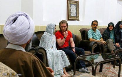 تشرف جوان روسی به دین اسلام/تصاویر