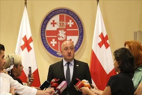 در آستانه نشست سران ناتو؛ رئیسجمهوری گرجستان خواستار حمایت از پیوستن تفلیس به ناتو شد