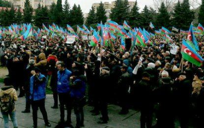 تشکیلات آزادی قره باغ به دنبال دریافت مجوز برای برگزاری میتینگ در باکو