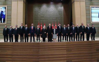 اردوغان، کابینه جدید ترکیه را اعلام کرد